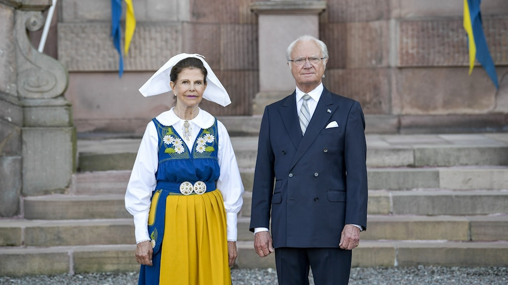 Bild på Kung Carl XVI Gustaf och drottning Silvia. Foto: Janerik Henriksson/TT