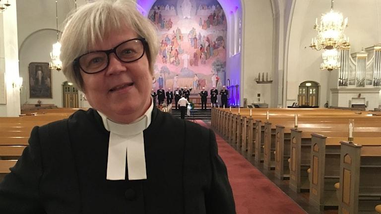 Carola Sjölind Westin är sjukhuspräst i Örnsköldsvik