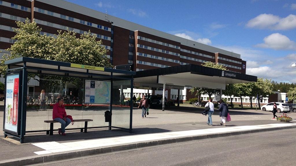 Sundsvalls sjukhus ext huvudentré Foto: Sara Johansson/SR