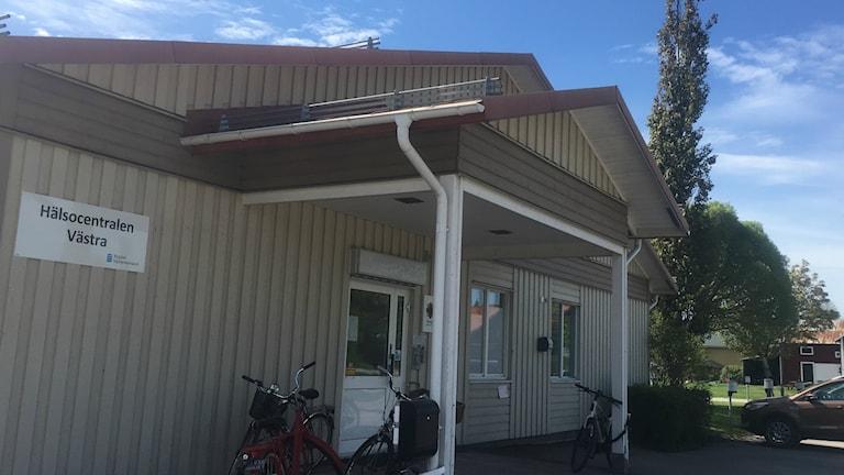 Junsele hälsocentral exteriör. Foto Anton Kåren
