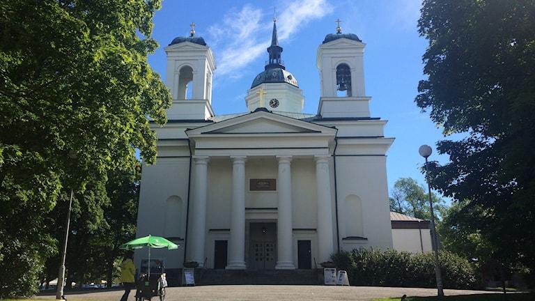 Domkyrkan i Härnösand. Foto Ulla Öhman