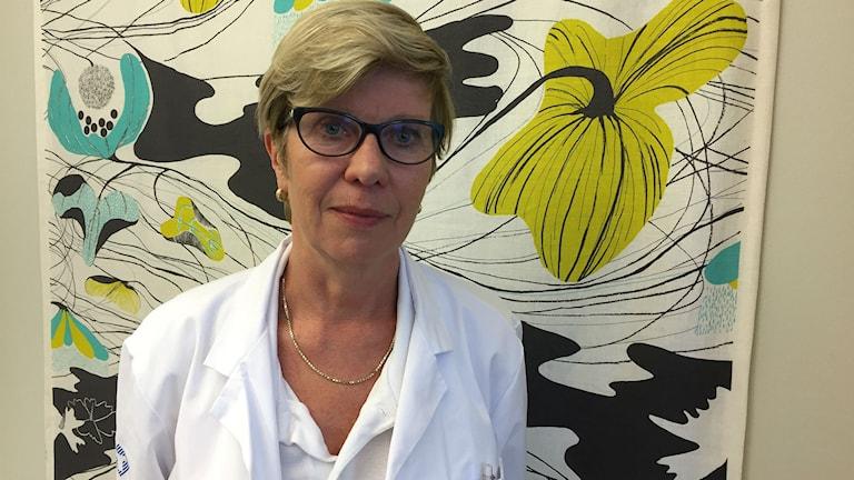 Marju Dahmoun, verksamhetschef för kvinnosjukvården i Västernorrland.