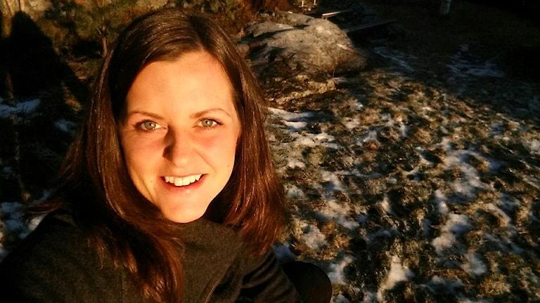 Emilia Rapp, ordförande i förening Kraftsamling Fränsta. Foto: Privat