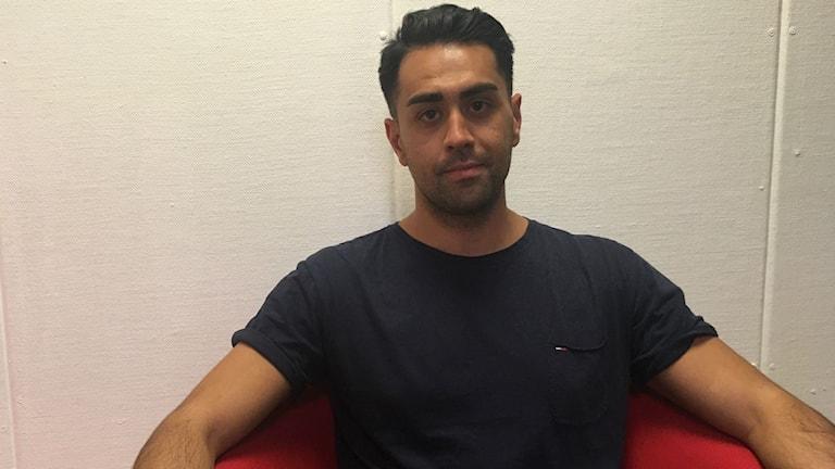 Mustafa Panshiri, förre detta polisen.