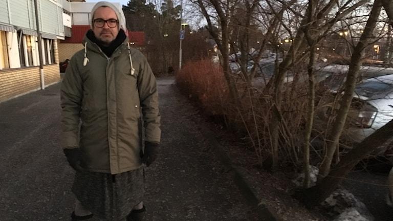 Ola Lindström inför rollatorletande i Timrå