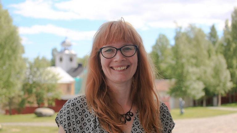 Jennie Samuelsson är chef för länsmuseet Murberget. Foto: Privat