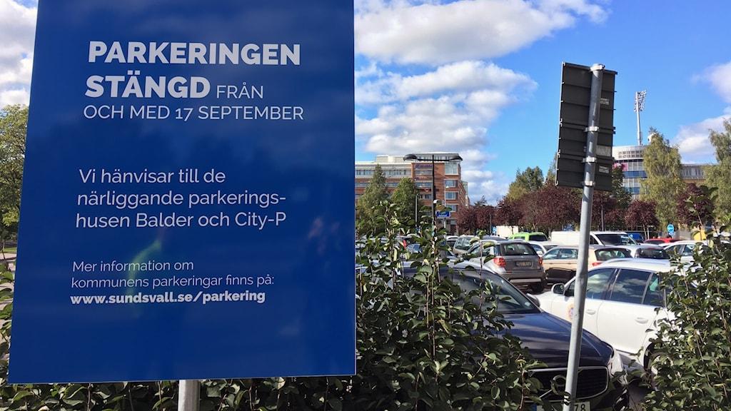 norrmalmsparkering, stängd parkering.