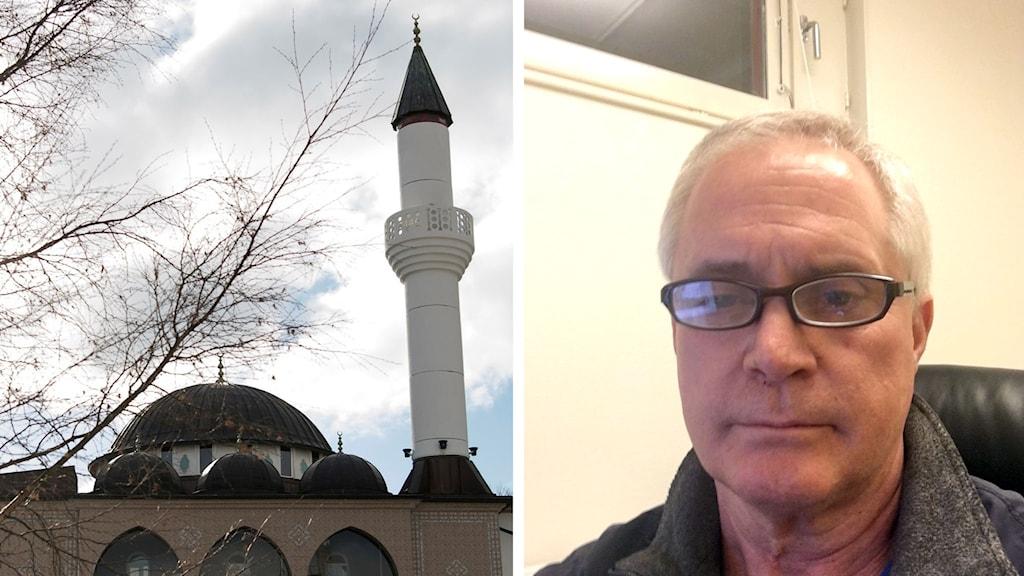 SD politikern Mark Collins vill bygga moske i Höga kusten i hopp att få nyanlända att stanna kvar i Kramfors kommun.