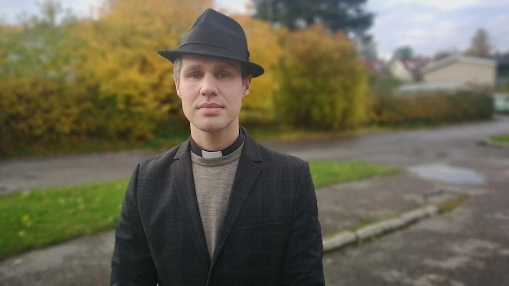 Andreas Sundström, kyrkoherde i Sköns församling.
