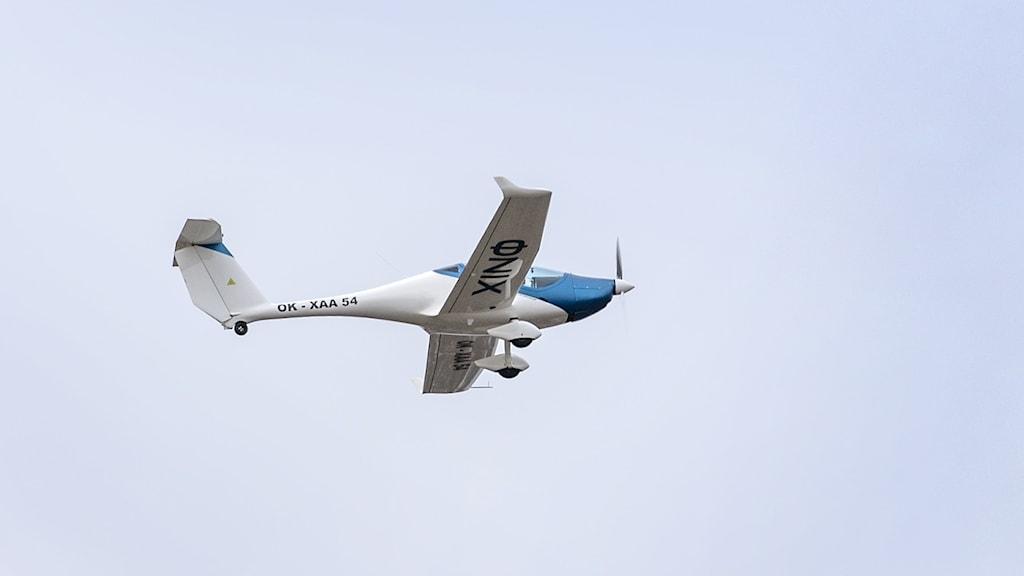 Elflygplan Det tjeckiska planet Onix (bilden) har visats upp på Bromma flygplats 2020