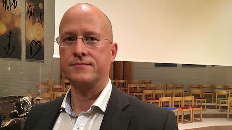 Lars Rocksén är vice ordförande i Ångermanlands läkarförening