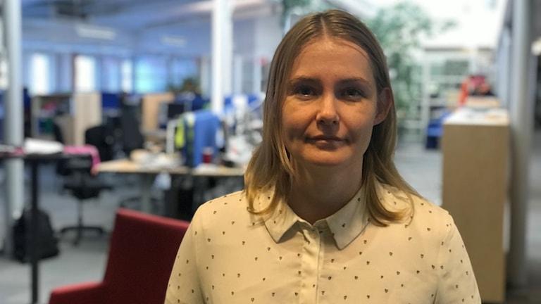 Sara Ödmark, doktorand i politisk kommunikation
