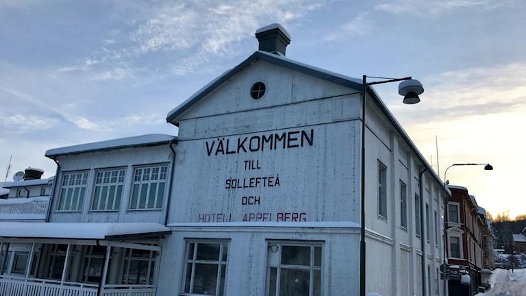 Hotellbyggnad i Sollefteå