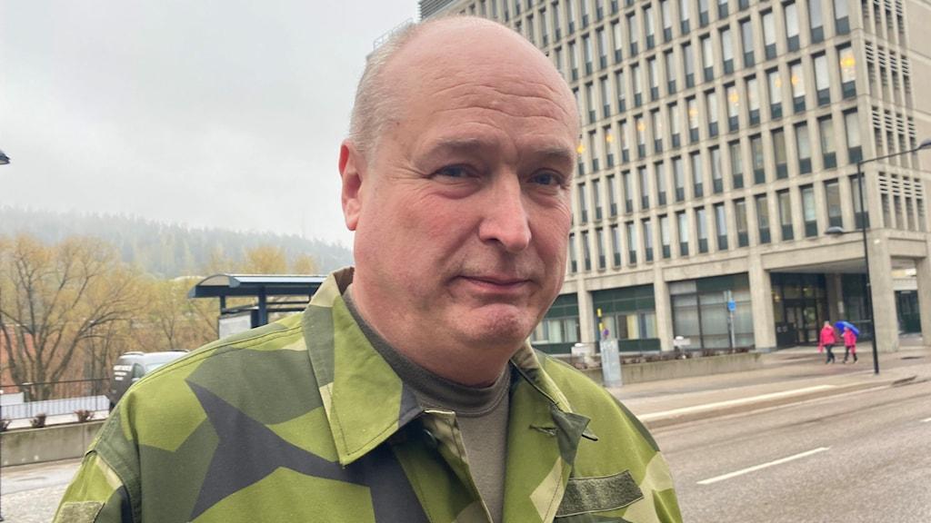 Daniel Zetterqvist, kapten i hemvärnet