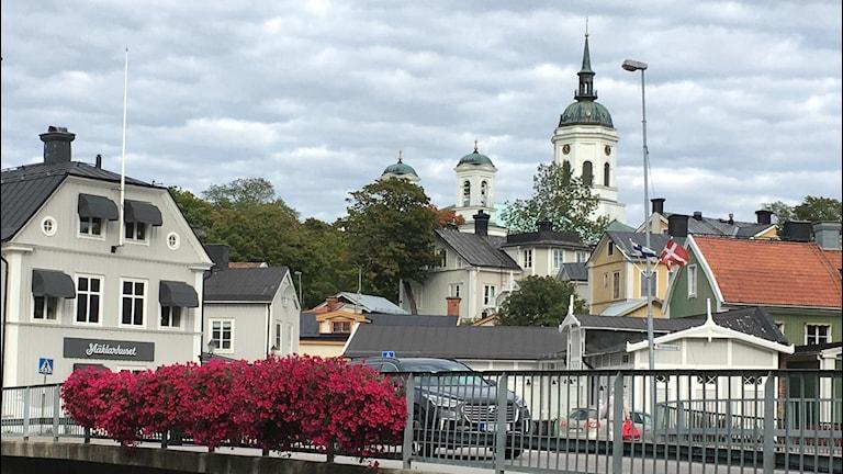 Härnösand, stadsbild, domkyrkan, Härnösands stad
