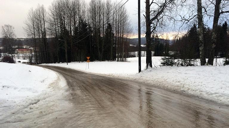 halka på mindre vägar