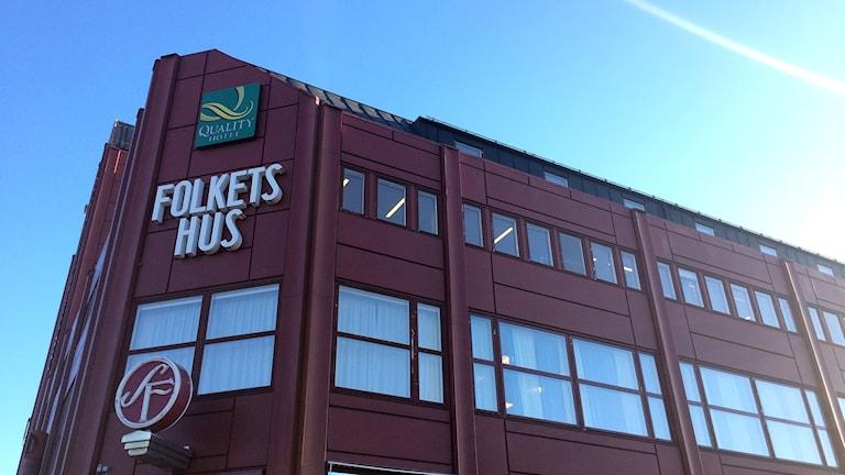 Folkets Hus i Sundsvall. Foto: TullaMaja Fogelberg/Sveriges Radio
