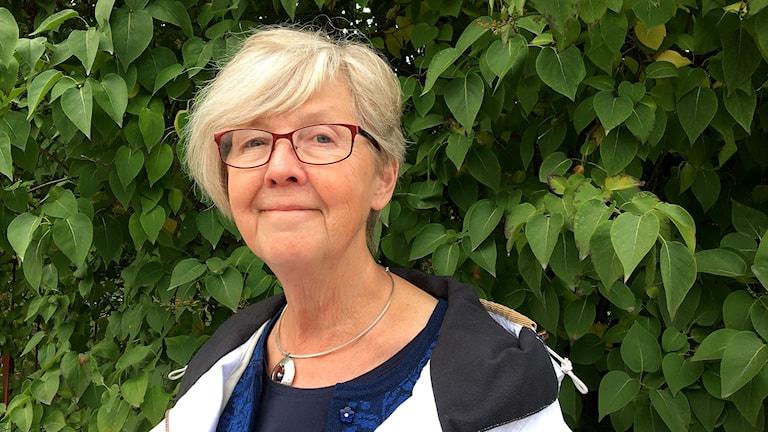 Marianne Hellström, ordförande i Medelpads hemslöjd