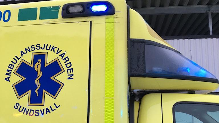 ambulans, olycka, ambulanssjukvården i Sundsvall