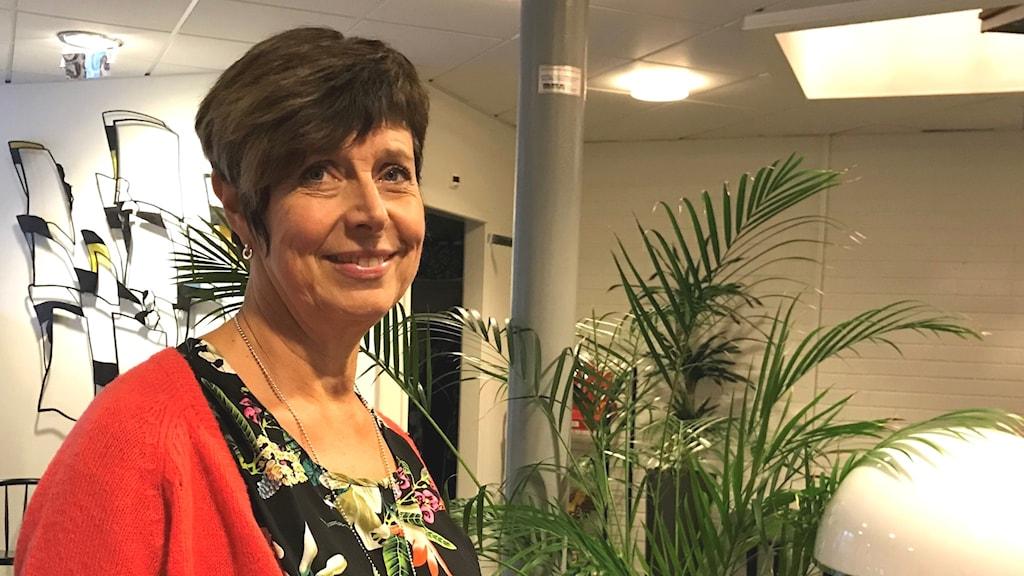 Porträtt på Ingeborg Wiksten