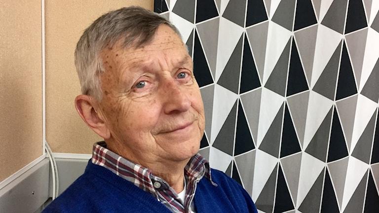Sture Henningsohn, ordförande i patientföreningen Träpatronerna. Foto: Karin Lönnå/Sveriges Radio