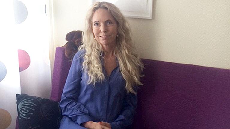 Eva Norlin, ny regionkoordinator prostitution människohandel. Foto: Privat