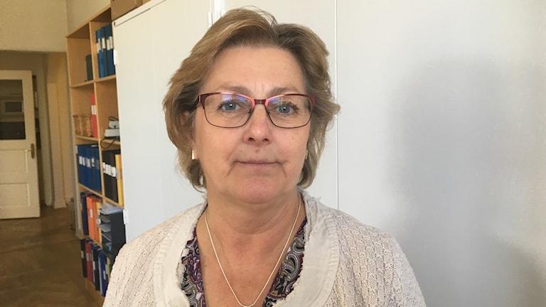 Lena Asplund moderat riksdagspolitiker från Sollefteå och medlem i partistyrelsen.