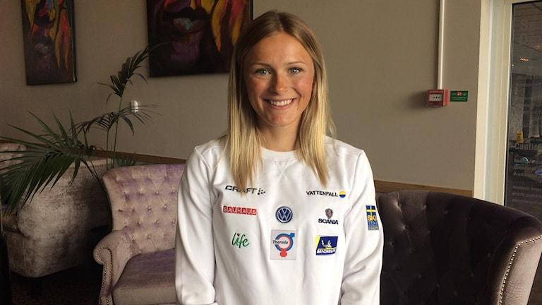 Frida Karlsson. Landslaget i längdskidor.