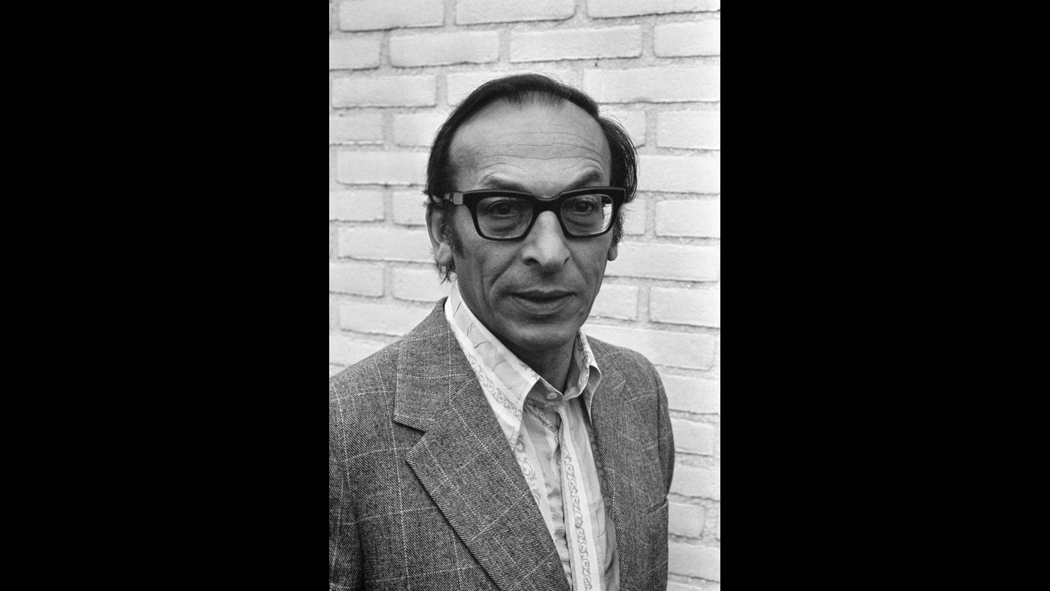 Författaren Emanuel Litvinoff