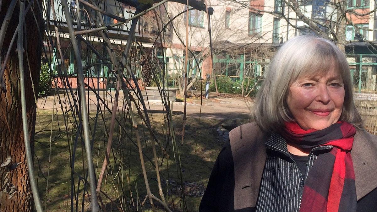 Agneta Pleijel författare till boken Spådomen - en flickas memoarer