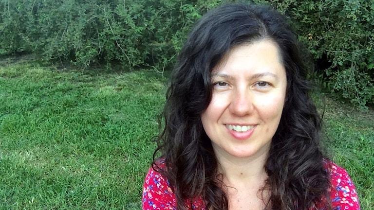 Alma Kirlic författare till Radionovellen Det har med säkerhet att göra
