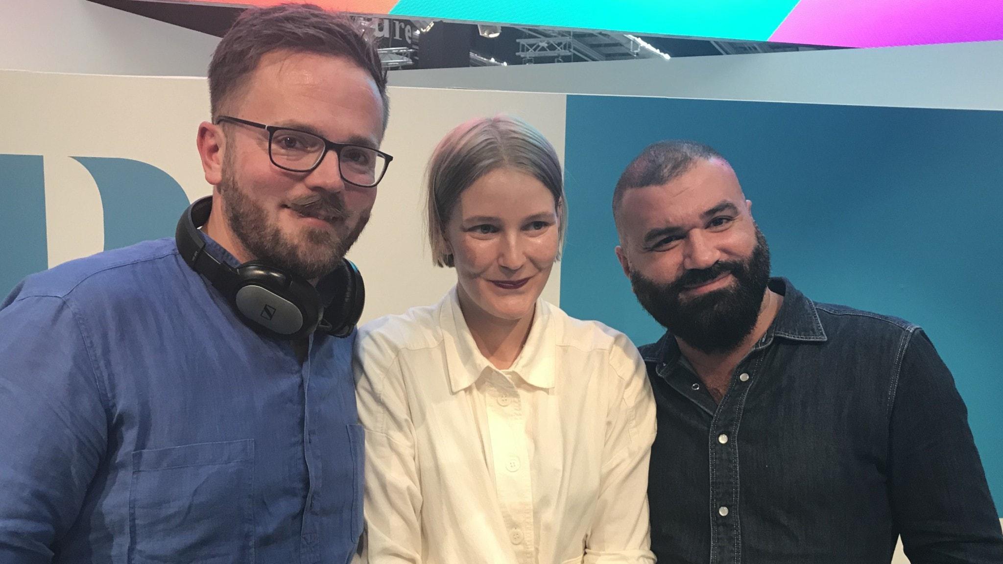 Joseph Knevel, Anna Jansson, Khaled Alesmael