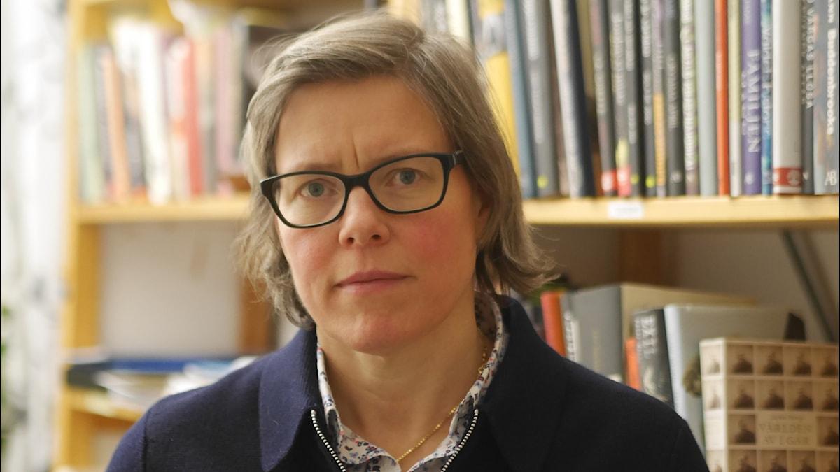 Författaren Lena Andersson, porträttfoto