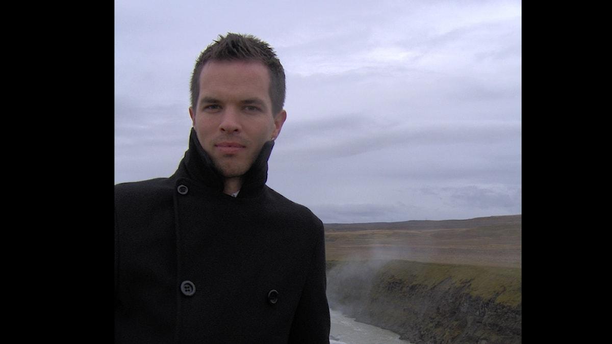 Författaren Mårten Melin