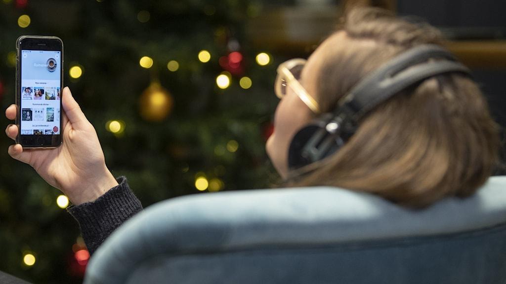 Lyssna på ljudbok i telefon