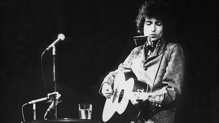 Bob Dylan Nobelpristagare i litteratur 2016