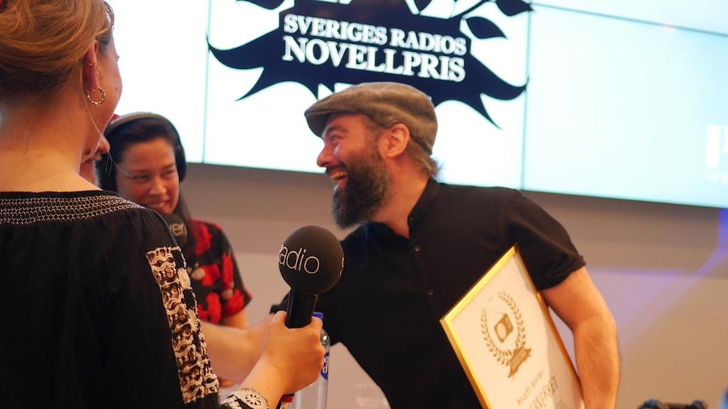 Vinnare av Sveriges Radios Novellpris 2018