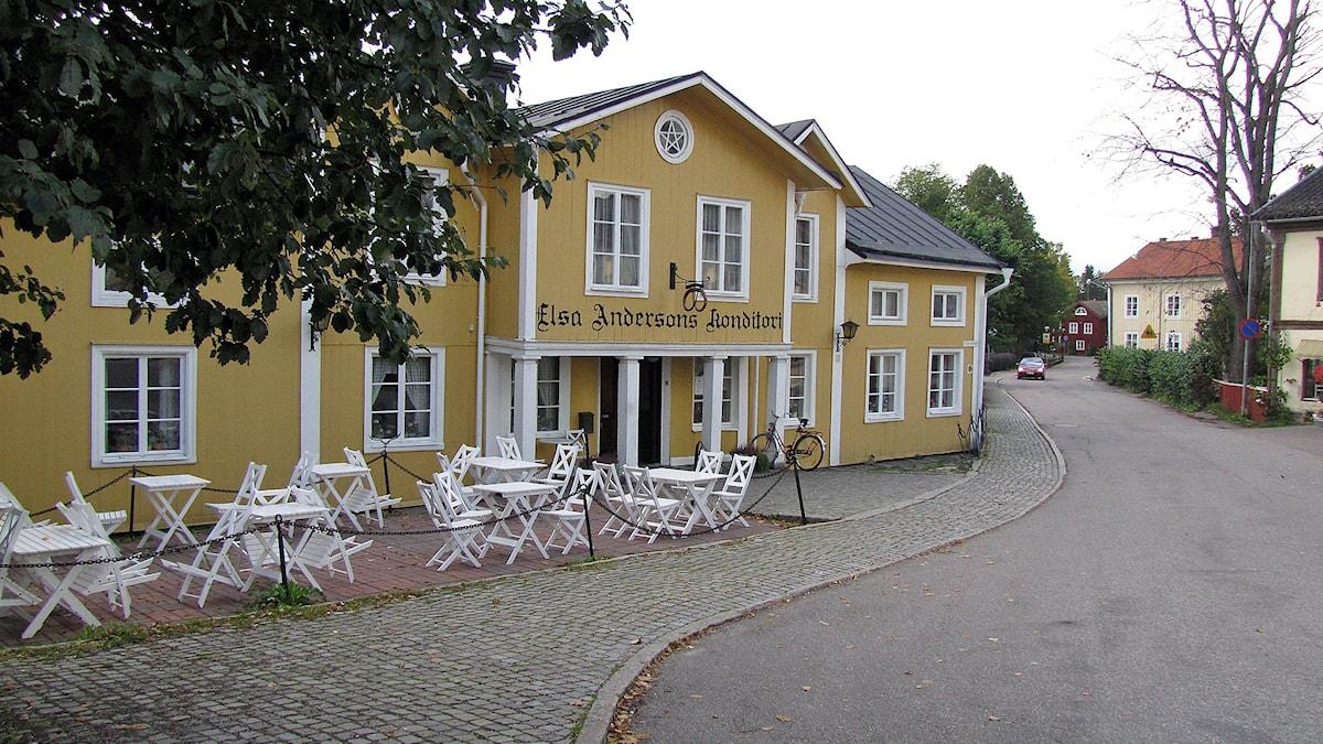 Elsa Andersons konditori i Norberg