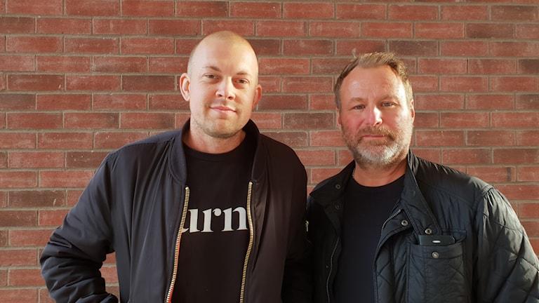 Jens Brandberg och Thomas Thörnholm