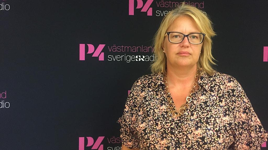 Anna Lundberg Liberal och ordförande i grundskolenämnden i Västerås stad,