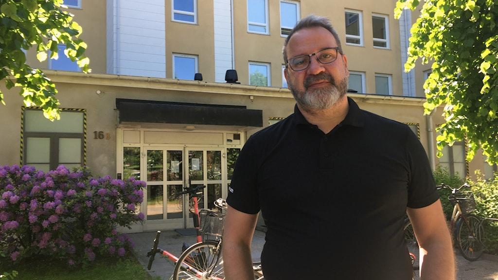 Christian Holm, säkerhetschef på Mimer