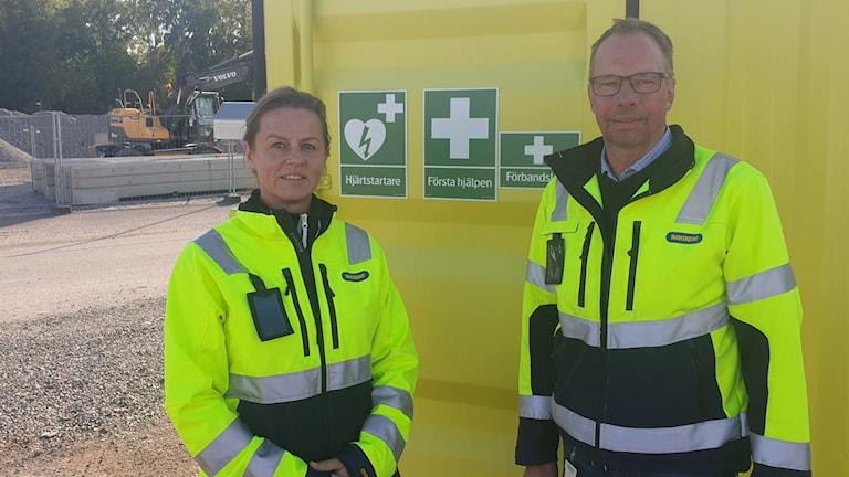 Anneli Egelstad och Anders Dahlin
