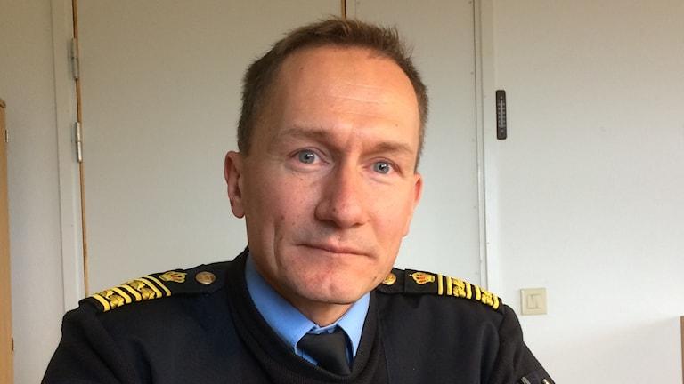 Robert Wallén, polisområdeschef Västmanland