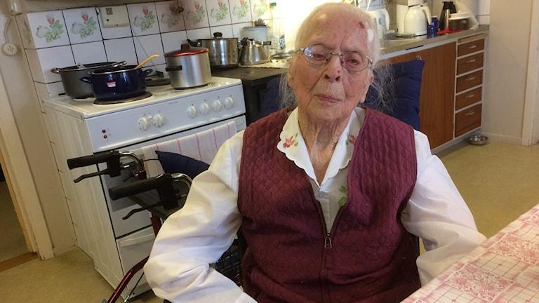 Stina Fröjd är redo för 107-årsdagen.