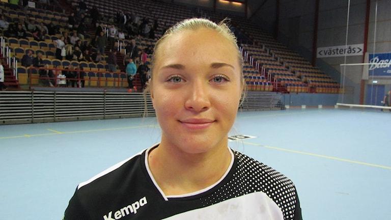 Hannah Flodman. Foto: Hans Sjöström/Sveriges Radio