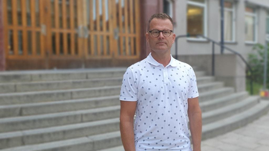 Stefan Remne, verksamhetschef för Västerås stads gymnasieskolor.