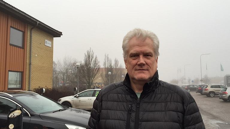 Anders Lundin, ansvarig för fordonsflytt på Västerås Stad.
