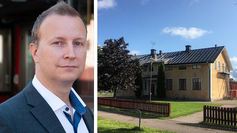 Richard Fallqvist (L), Medåkers skola