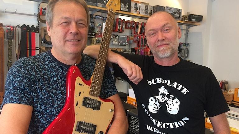 Pelle Sundkvist och Anders Siösteen