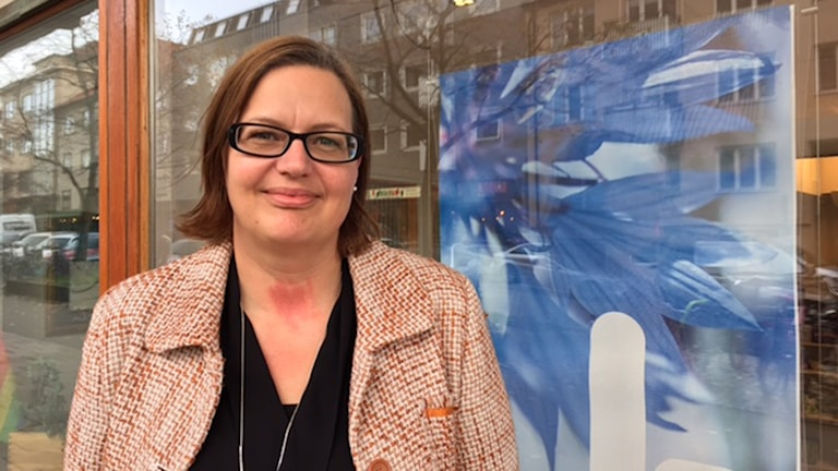 Anna Lundberg, liberal ledamot av förskolenämnden i Västerås.